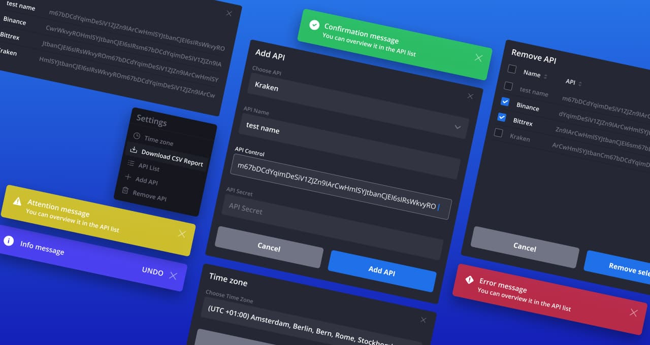 The screen of the main page of Arbitrage Bot on a laptop and tablet