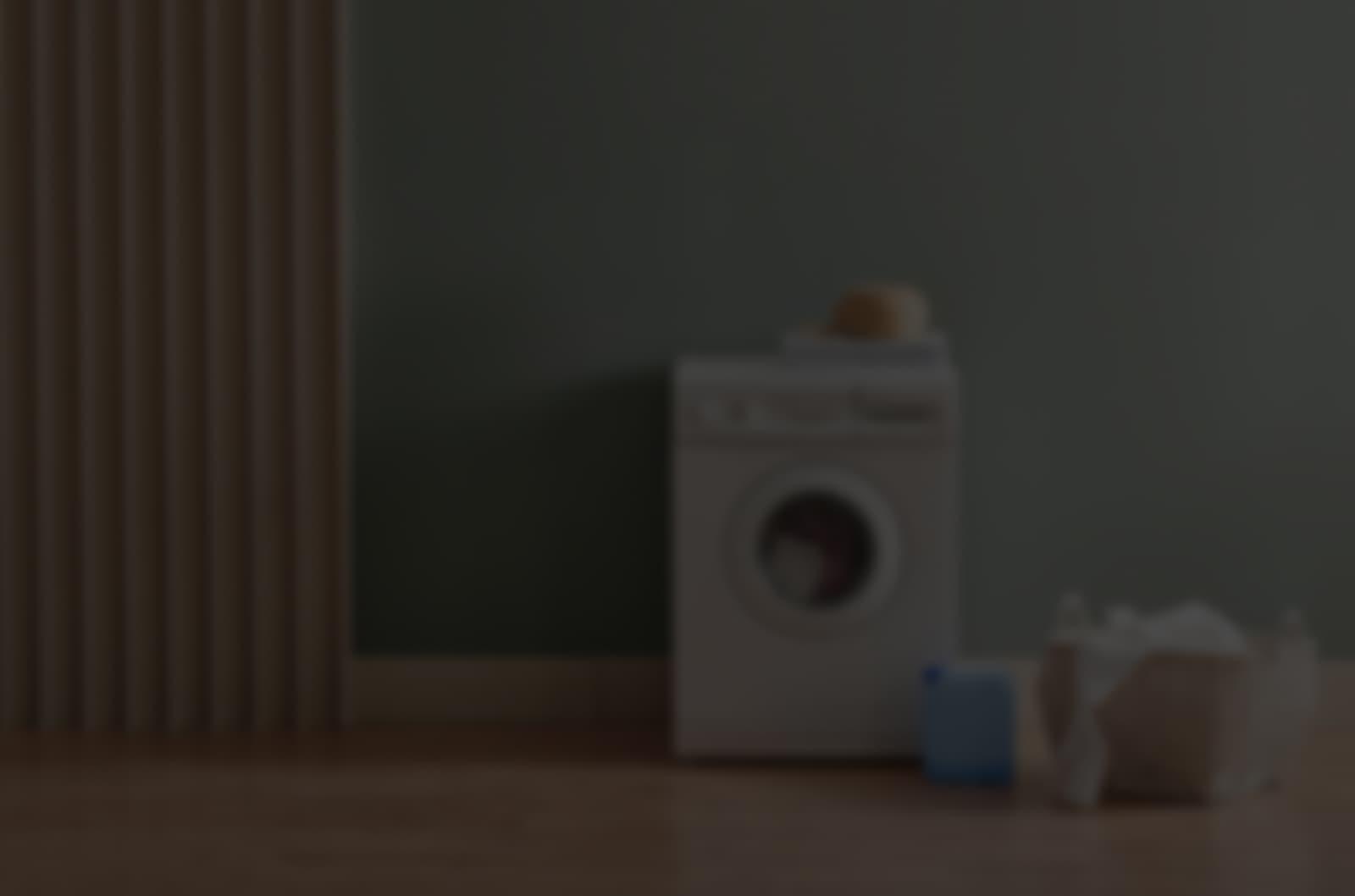 washing machine with things
