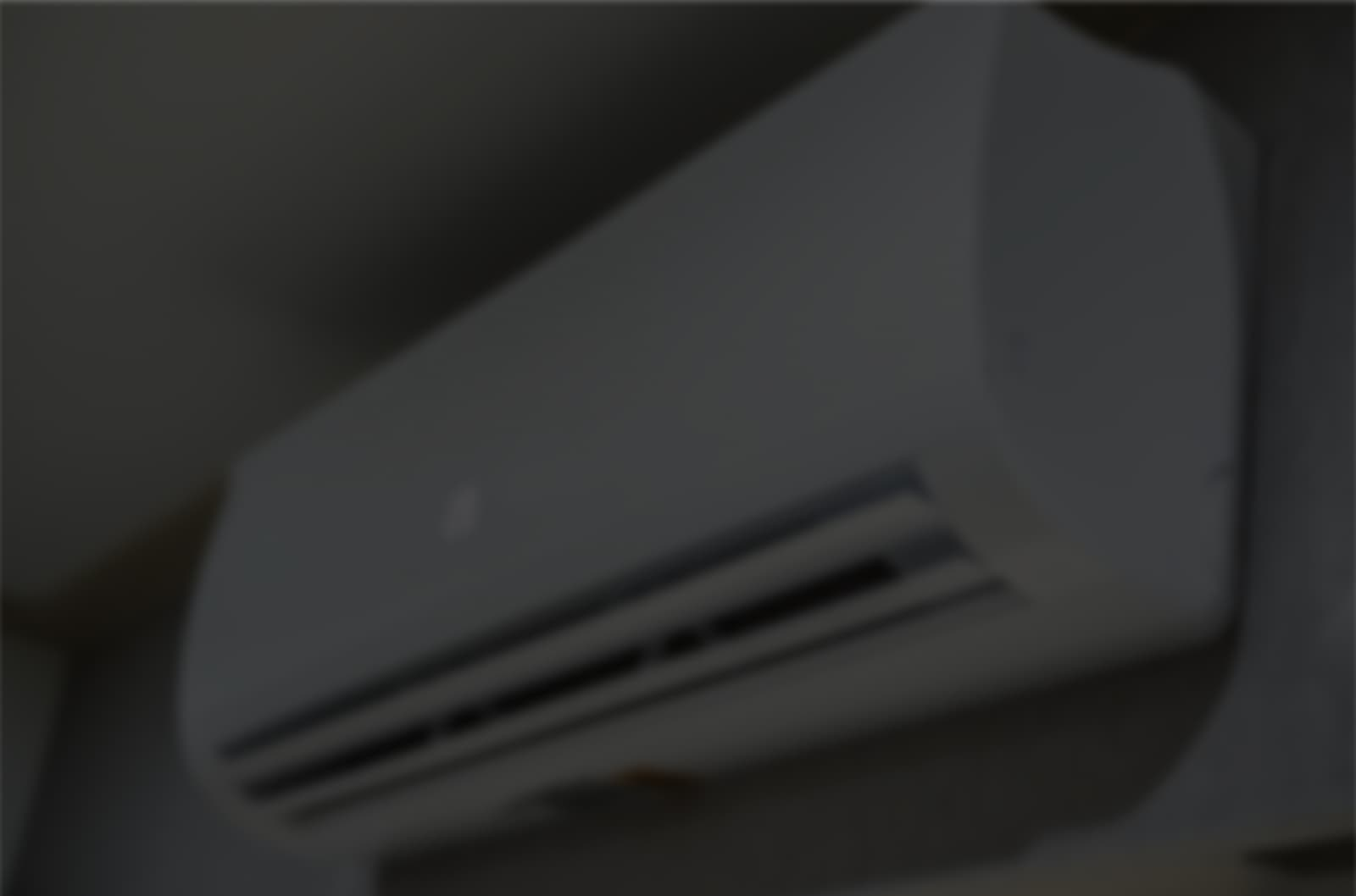 air conditioning on the wall