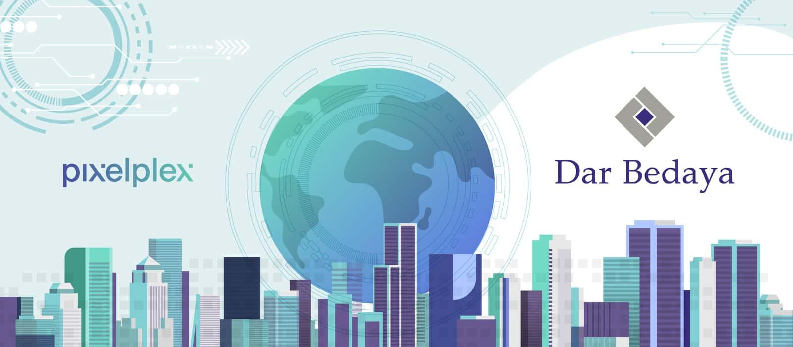 PixelPlex and Dar Bedaya Partnership Announcement