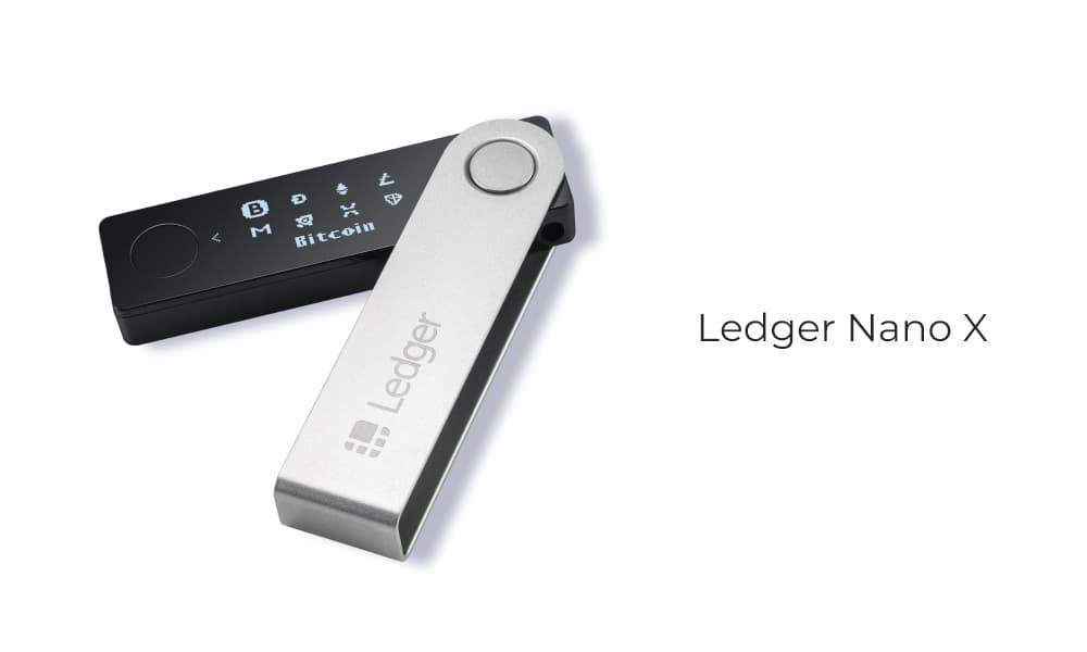 A Ledger Nano X device