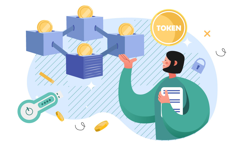A person studying tokenization chain
