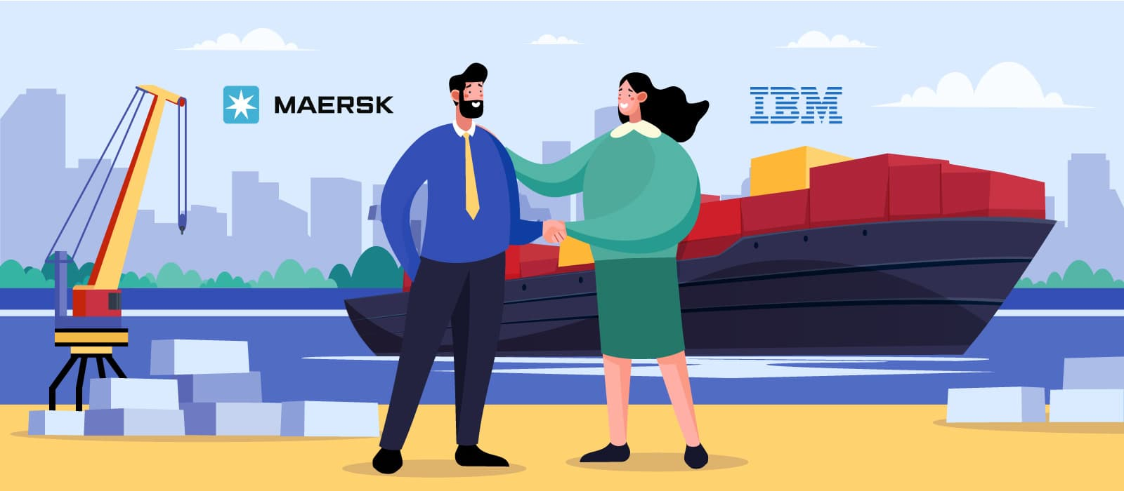 How Supply Chain Makes Use of TradeLens – Maersk and IBM Blockchain Solution