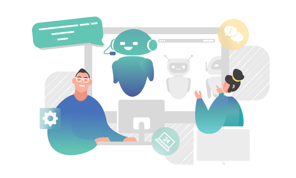 People building a support chatbot on devices