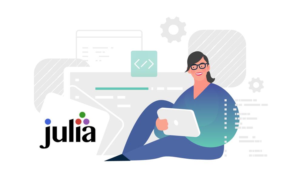 A person studying Julia programming language
