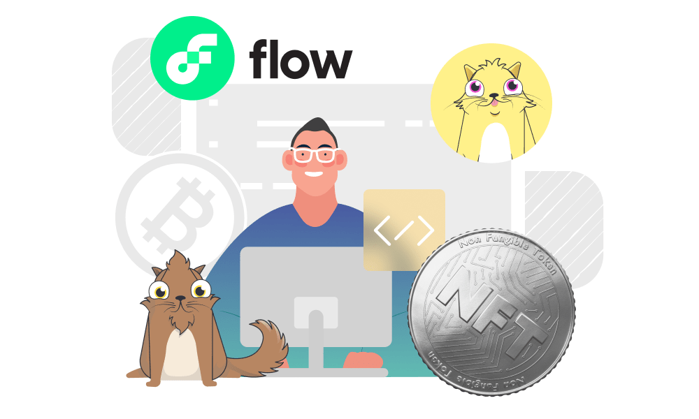 A person exploring Flow use cases