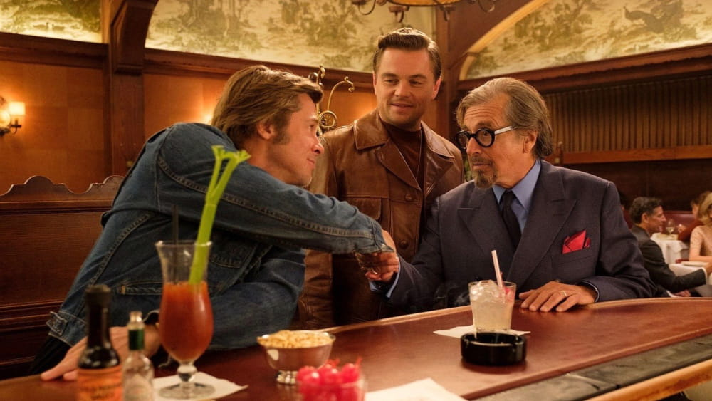 Hands shake from Once Upon A Time In Hollywood
