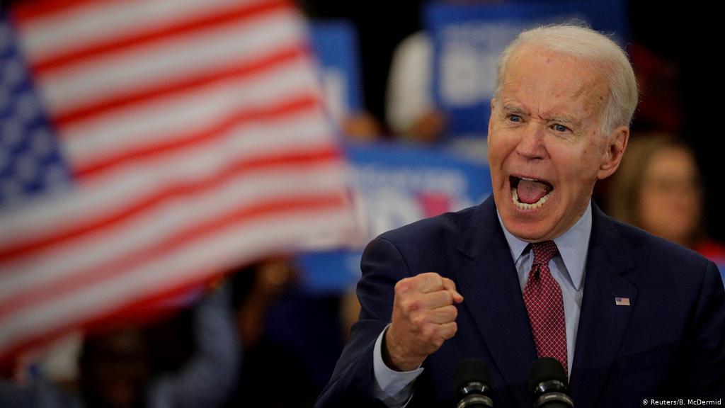Joe Biden performance during 2020 elections