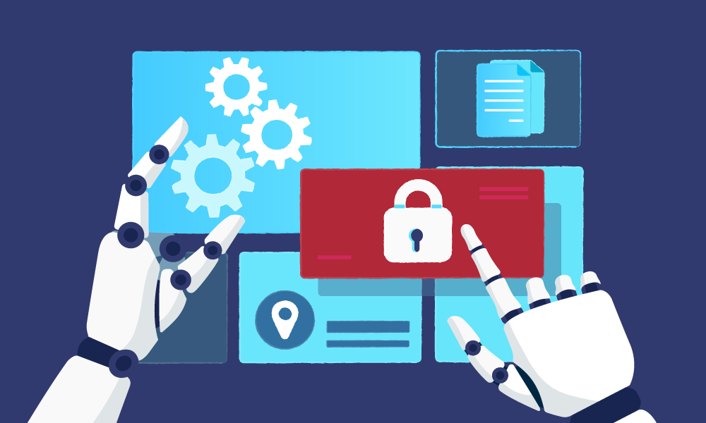 Artificial intelligence analyzing data security